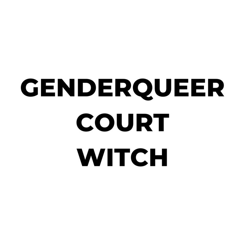 Genderqueer Court Witch Home Fine Art Print by avian30