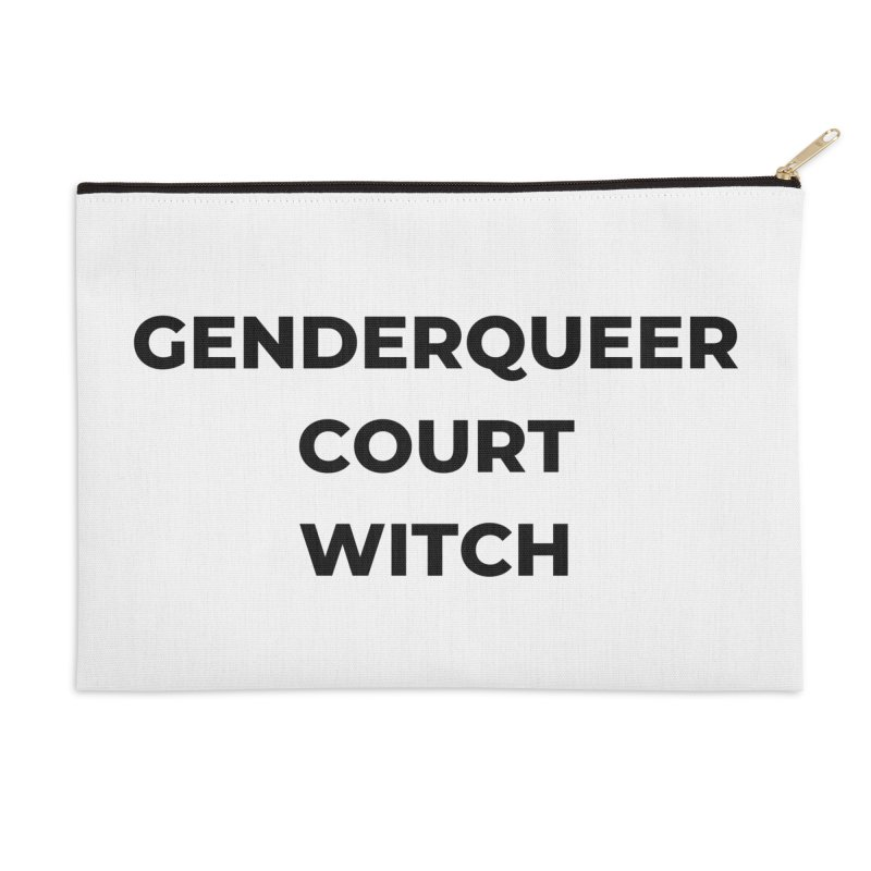 Genderqueer Court Witch Accessories Zip Pouch by avian30
