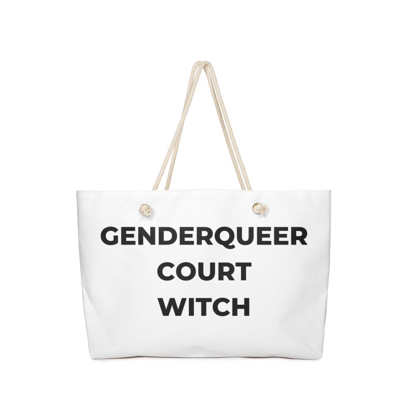 Genderqueer Court Witch Accessories Bag by avian30