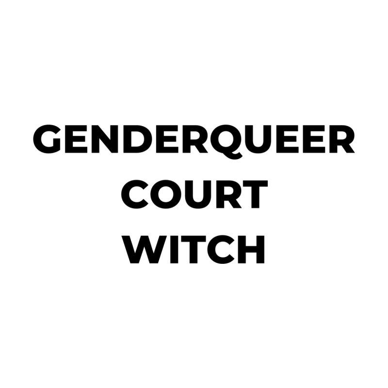 Genderqueer Court Witch Men's T-Shirt by avian30