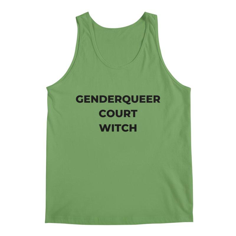 Genderqueer Court Witch Men's Tank by avian30