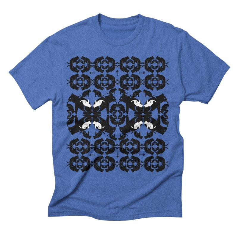 Infinite cats Men's T-Shirt by avian30