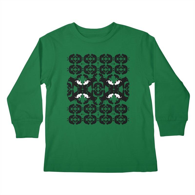 Infinite cats Kids Longsleeve T-Shirt by avian30