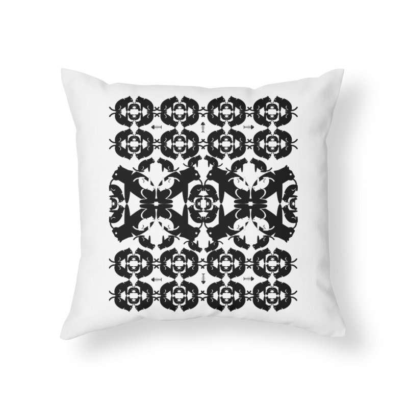 Infinite cats Home Throw Pillow by avian30