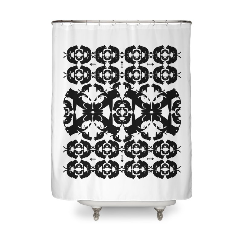 Infinite cats Home Shower Curtain by avian30