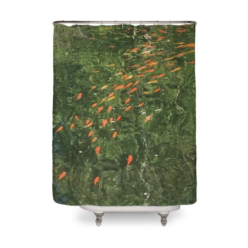 Koi parade Home Shower Curtain by avian30