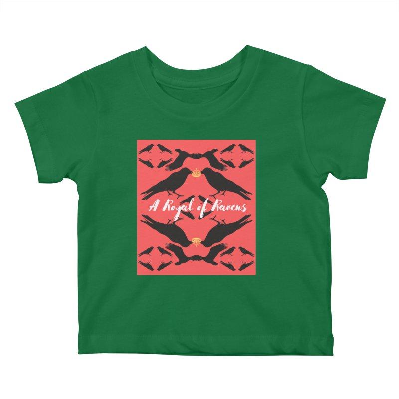 A Royal of Ravens Kids Baby T-Shirt by avian30