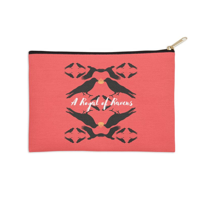 A Royal of Ravens Accessories Zip Pouch by avian30