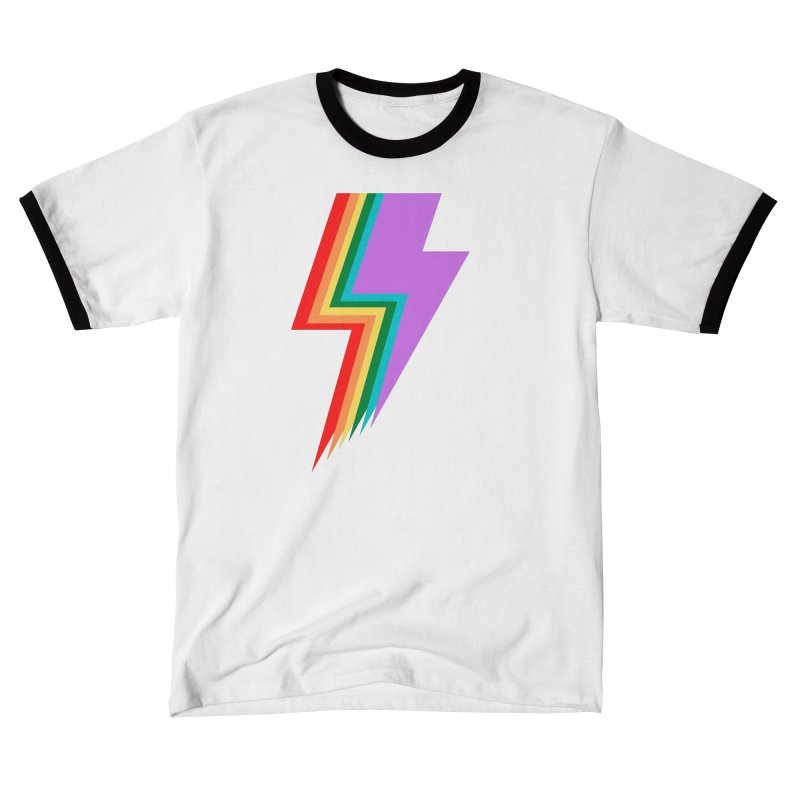 Glam Rock Pride Men's T-Shirt by avian30
