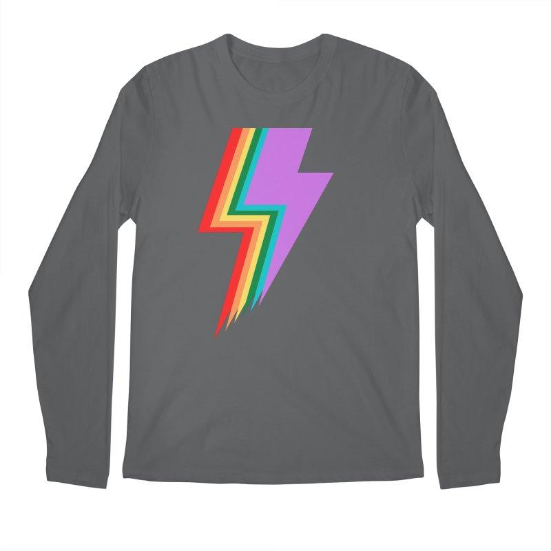 Glam Rock Pride Men's Longsleeve T-Shirt by avian30