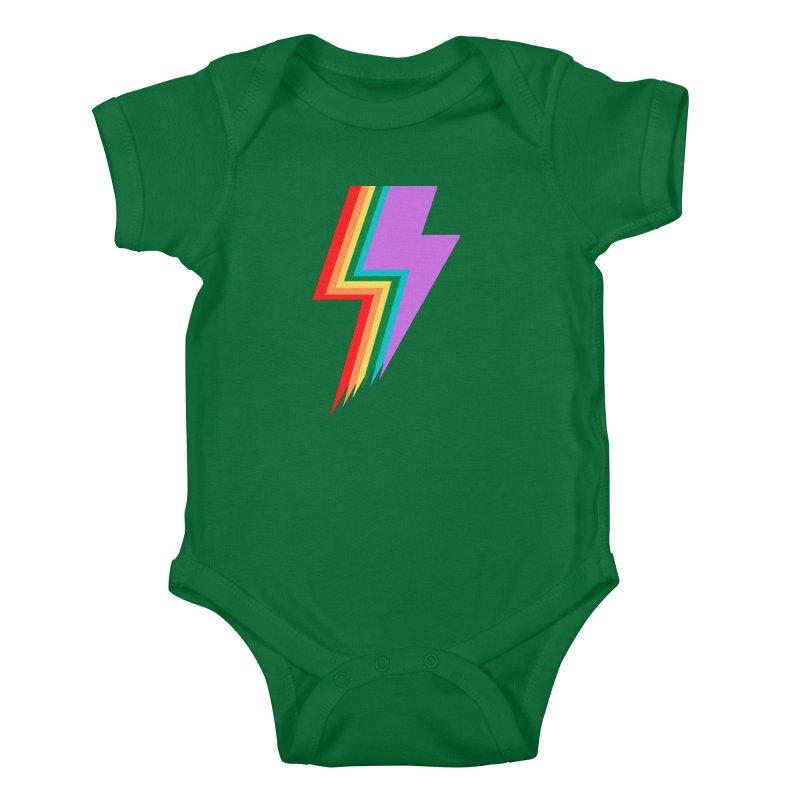 Glam Rock Pride Kids Baby Bodysuit by avian30