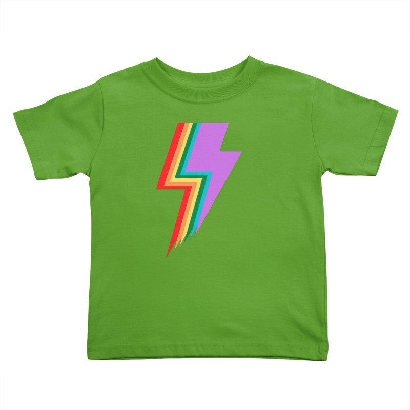 Glam Rock Pride Kids Toddler T-Shirt by avian30