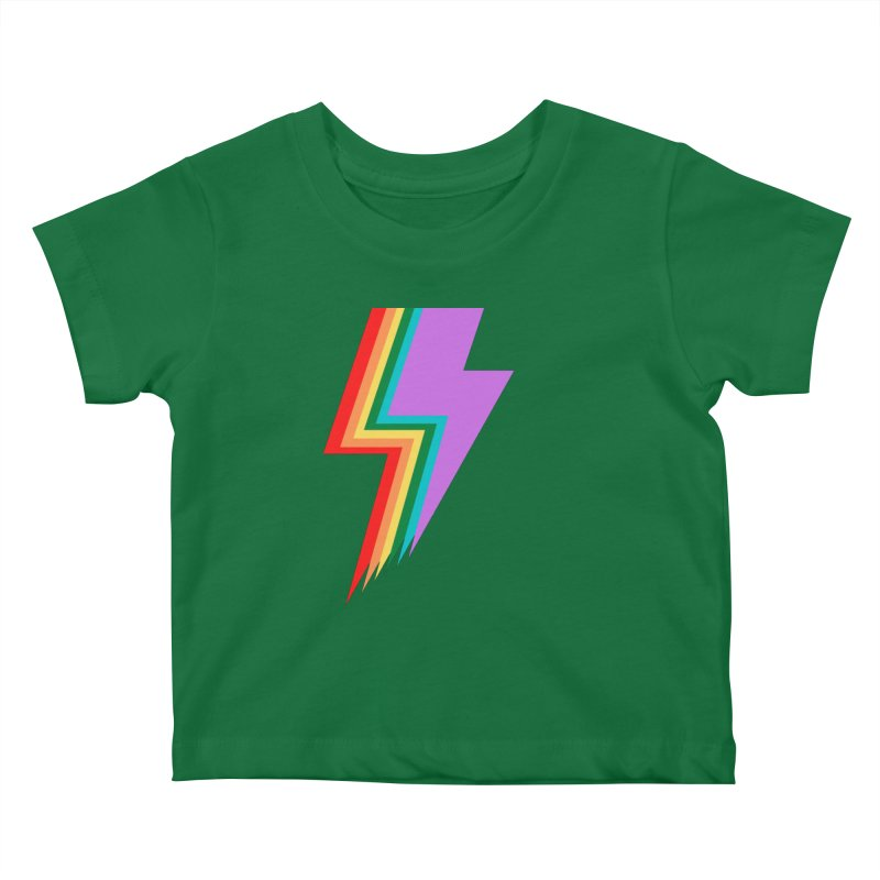 Glam Rock Pride Kids Baby T-Shirt by avian30