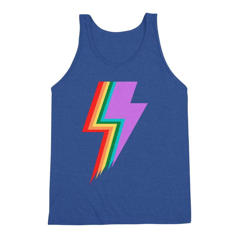 Glam Rock Pride Men's Tank by avian30