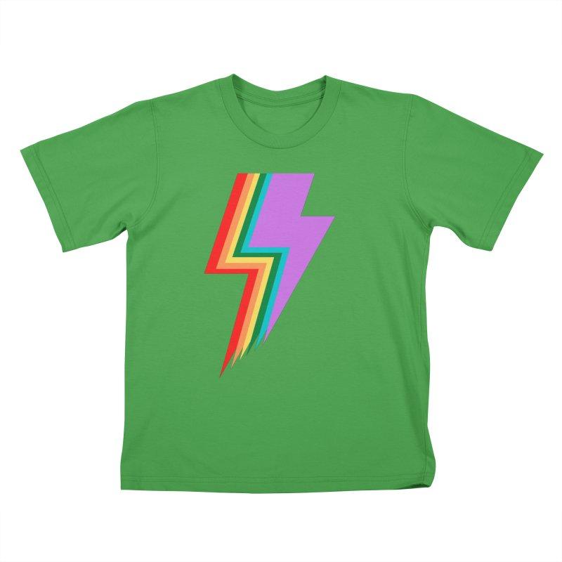 Glam Rock Pride Kids T-Shirt by avian30