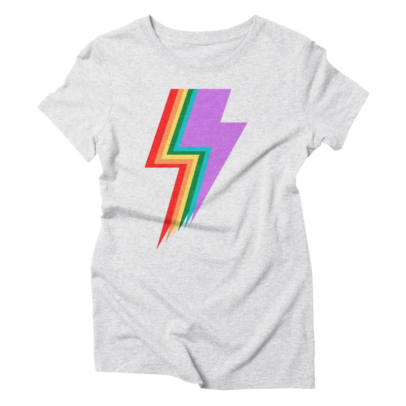 Glam Rock Pride Women's T-Shirt by avian30