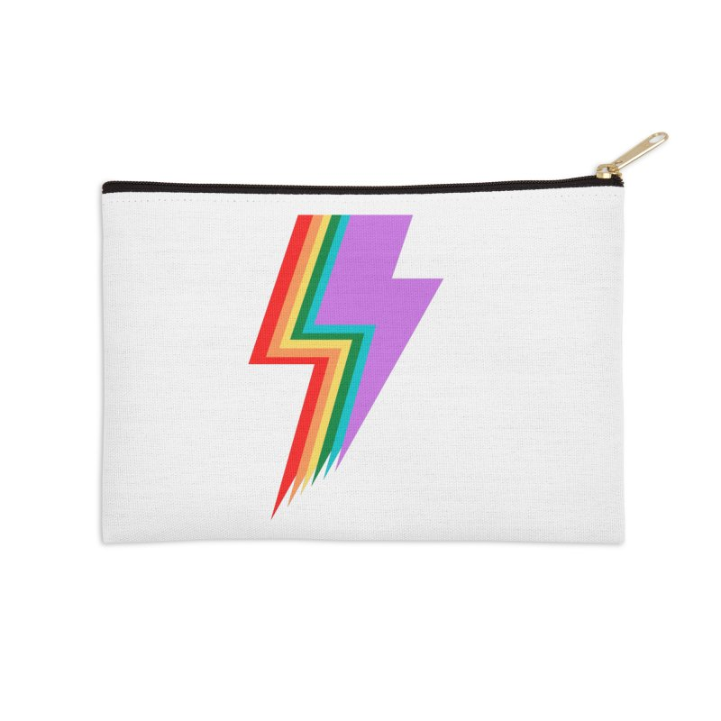 Glam Rock Pride Accessories Zip Pouch by avian30