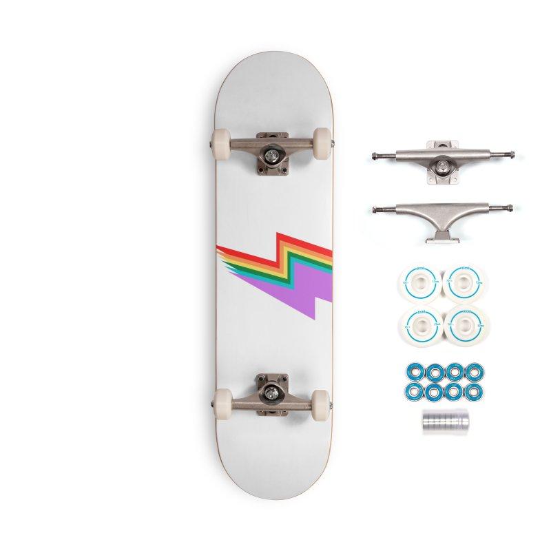 Glam Rock Pride Accessories Skateboard by avian30