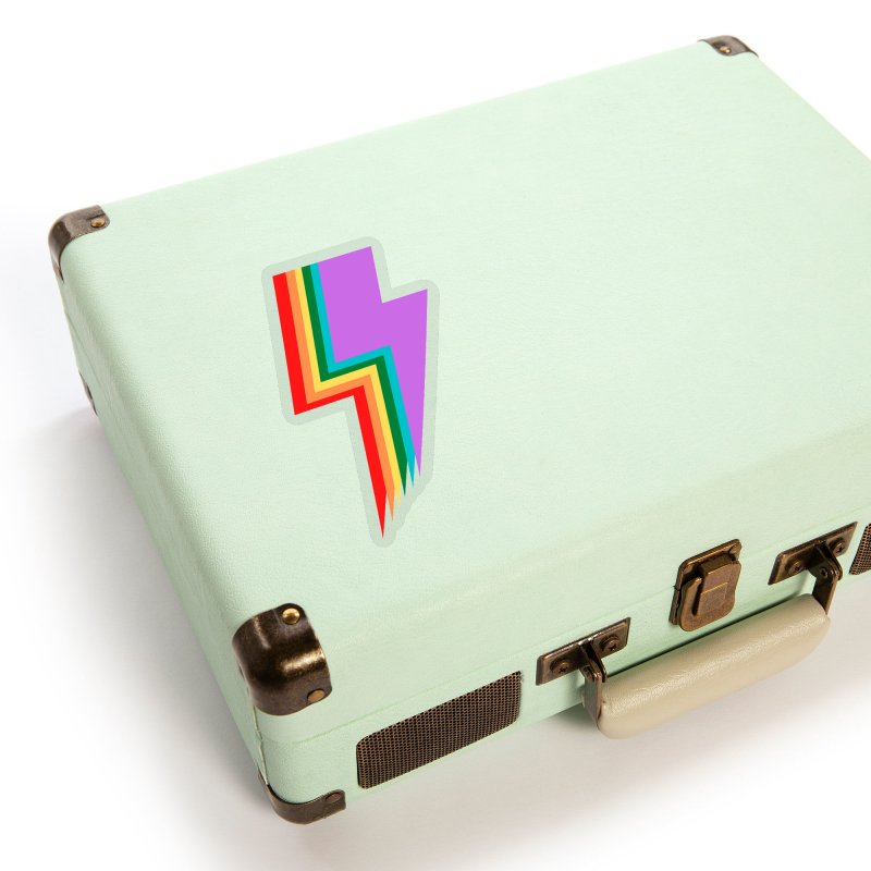 Glam Rock Pride Accessories Sticker by avian30
