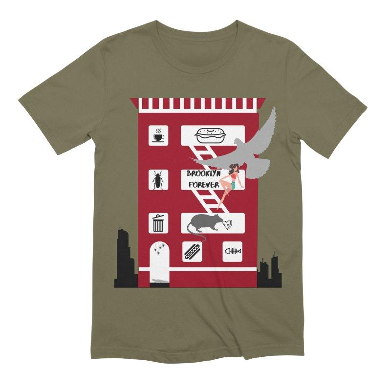 Brooklyn Forever Men's T-Shirt by avian30