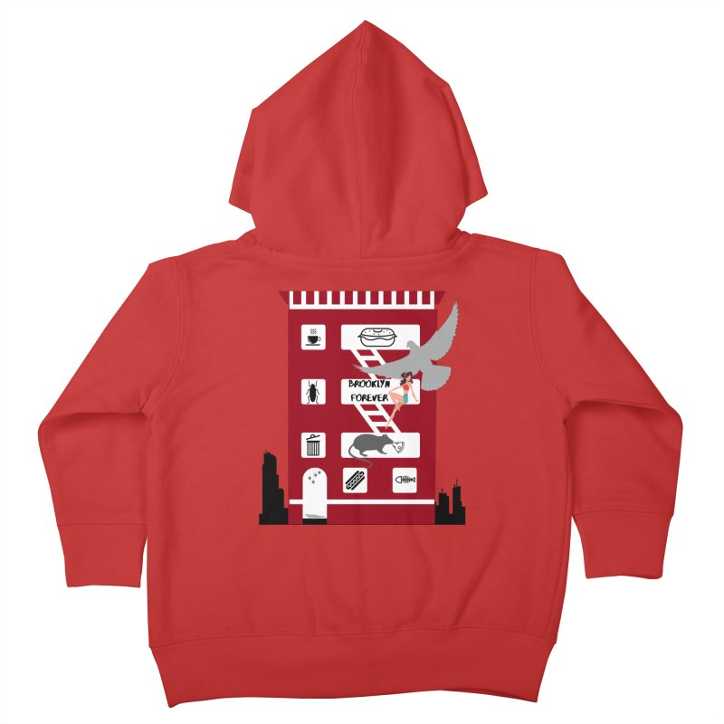 Brooklyn Forever Kids Toddler Zip-Up Hoody by avian30