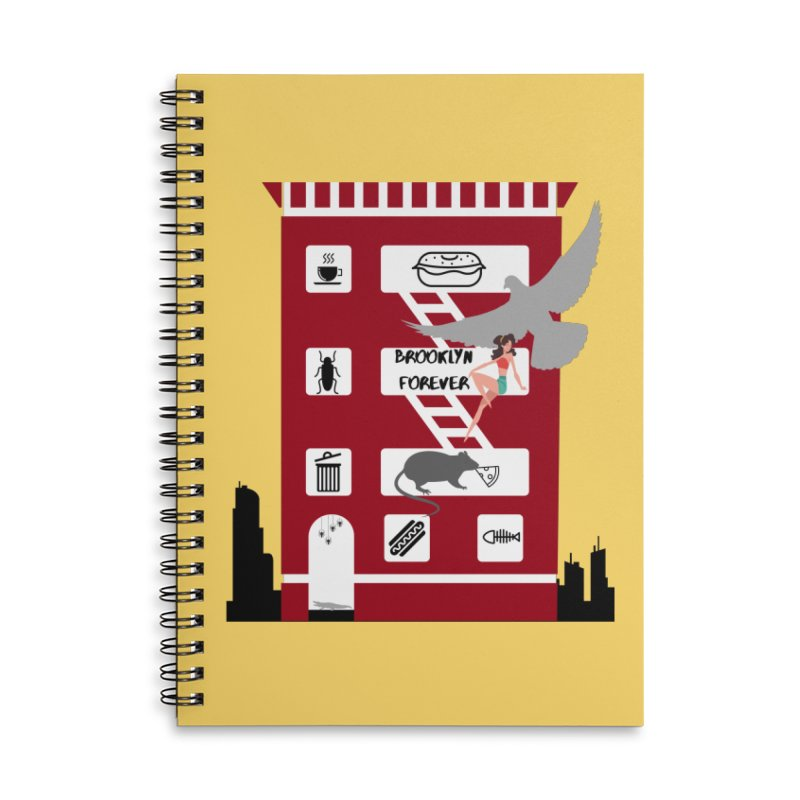 Brooklyn Forever Accessories Notebook by avian30