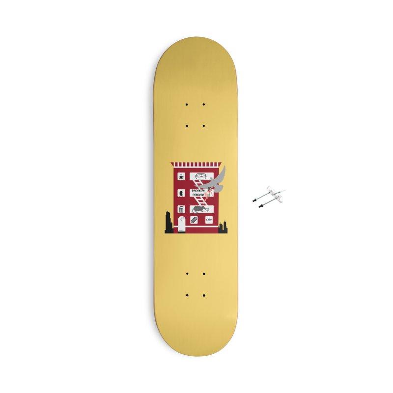 Brooklyn Forever Accessories Skateboard by avian30
