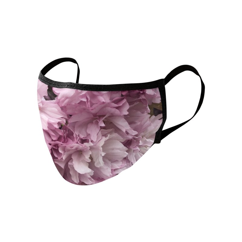 Blossoms Accessories Face Mask by avian30