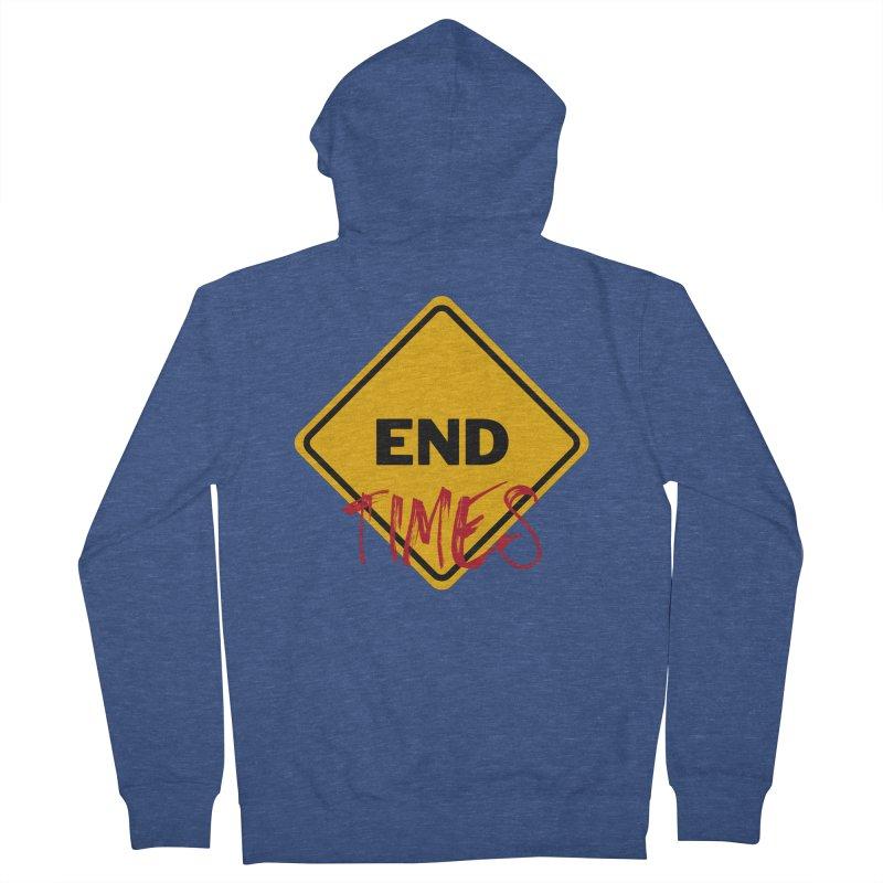 End Times Men's Zip-Up Hoody by avian30