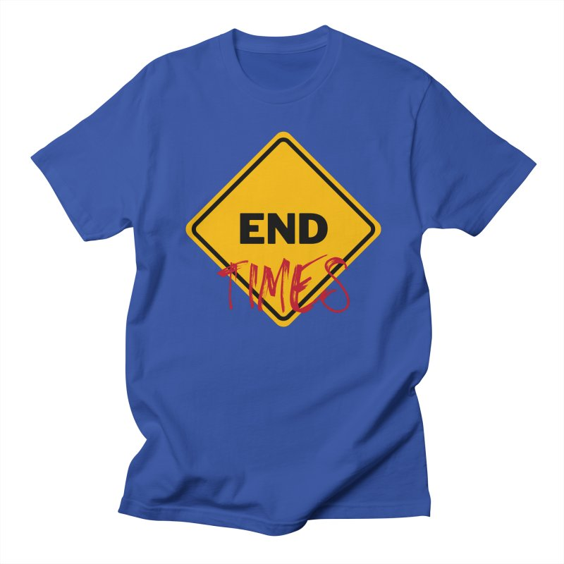 End Times Men's T-Shirt by avian30