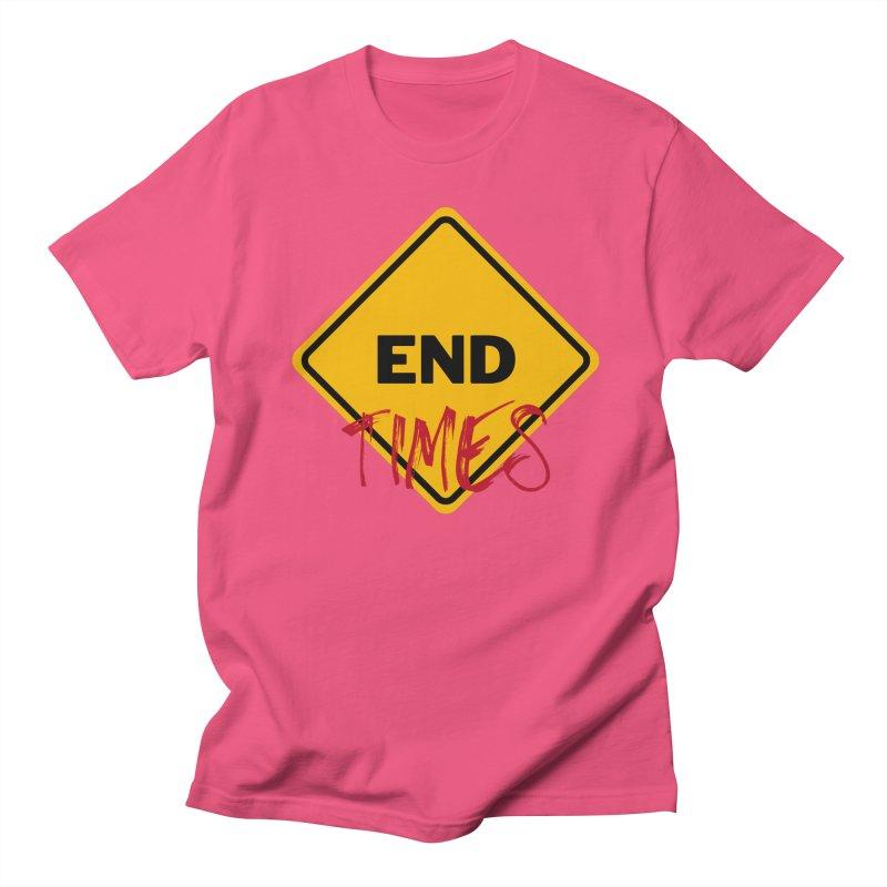 End Times Men's T-Shirt by avian30