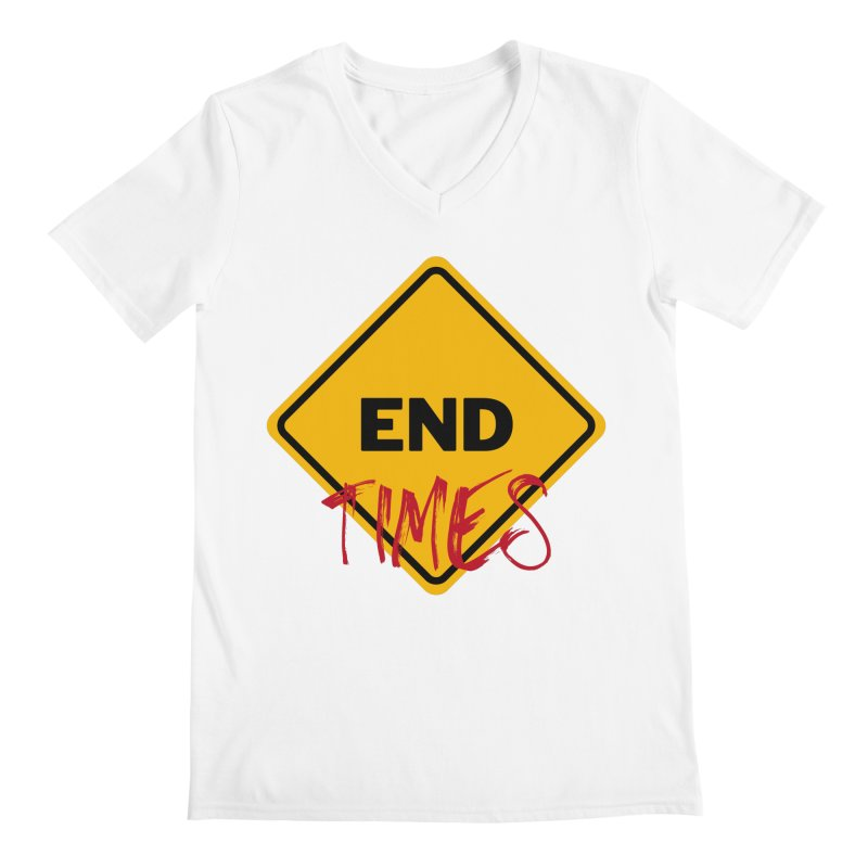 End Times Men's V-Neck by avian30