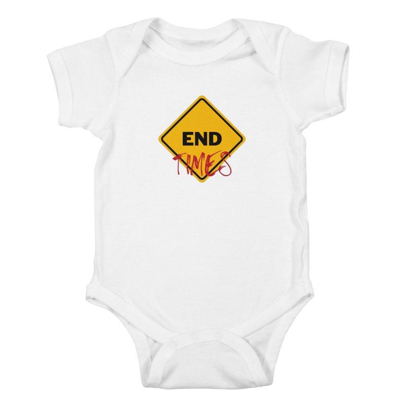 End Times Kids Baby Bodysuit by avian30