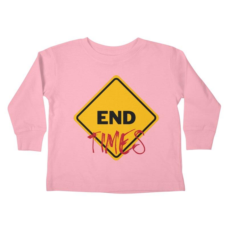 End Times Kids Toddler Longsleeve T-Shirt by avian30