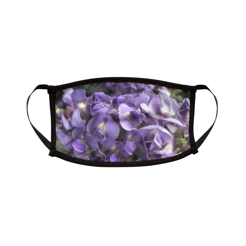 Wisteria Accessories Face Mask by avian30