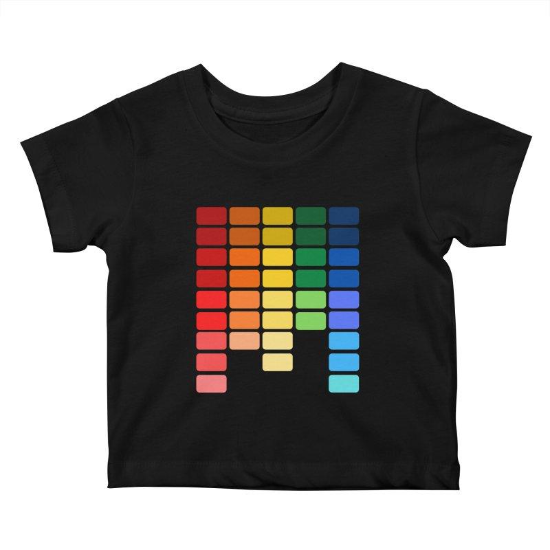 Pride EQ Kids Baby T-Shirt by avian30