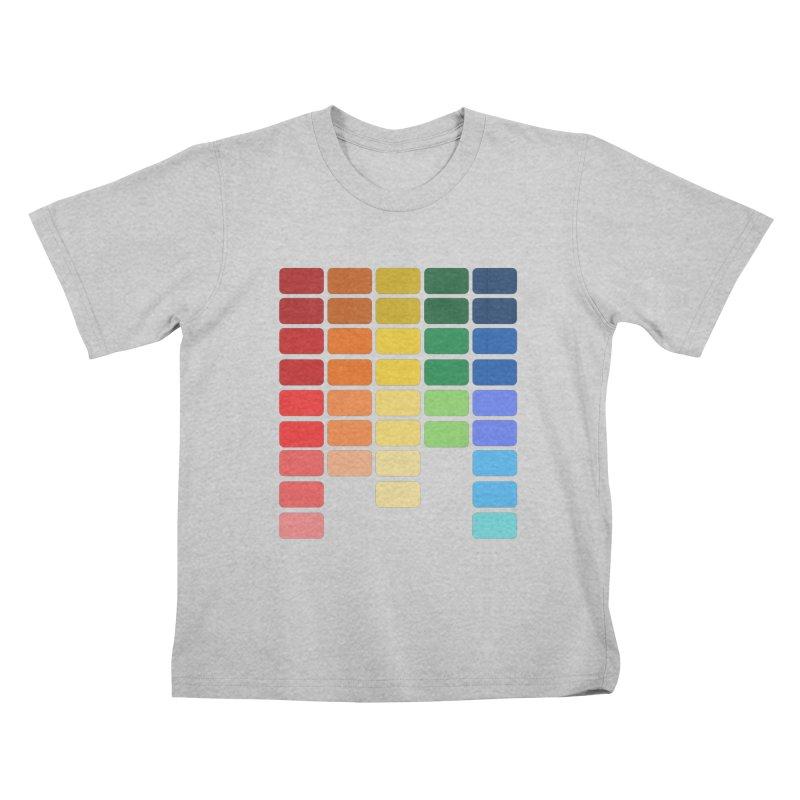 Pride EQ Kids T-Shirt by avian30