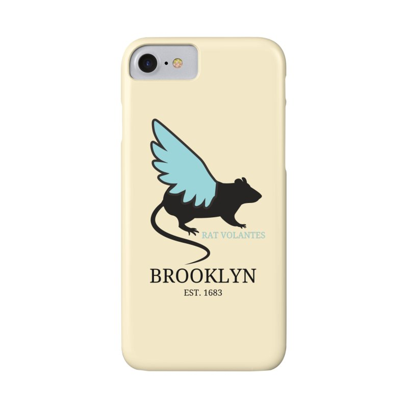 Flying Rat: Brooklyn Accessories Phone Case by avian30