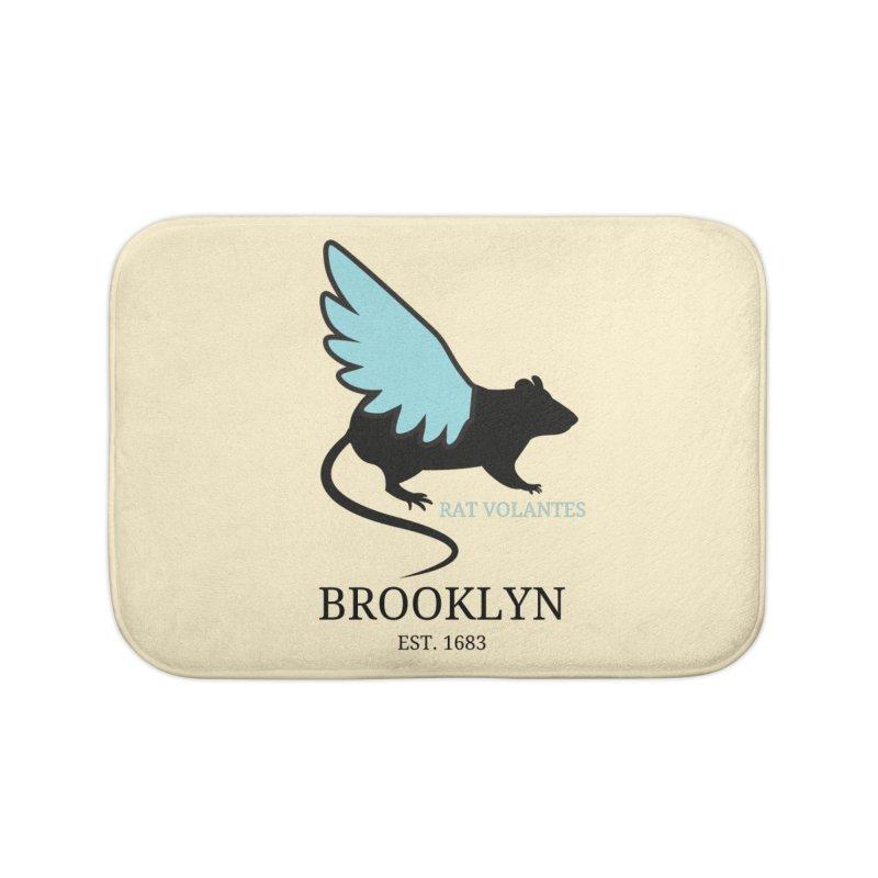 Flying Rat: Brooklyn Home Bath Mat by avian30