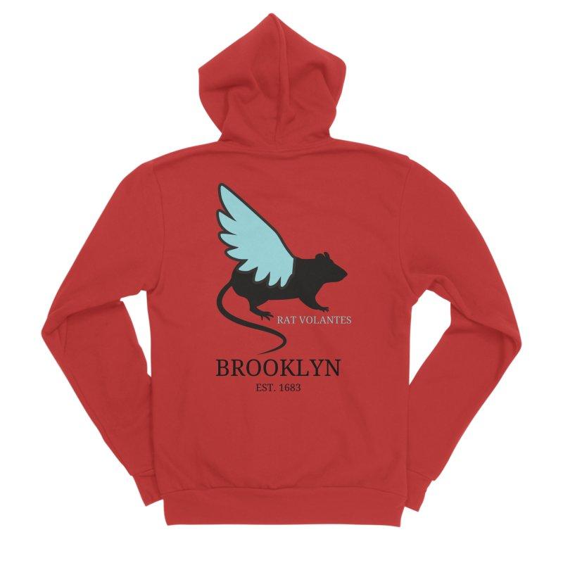 Flying Rat: Brooklyn Women's Zip-Up Hoody by avian30