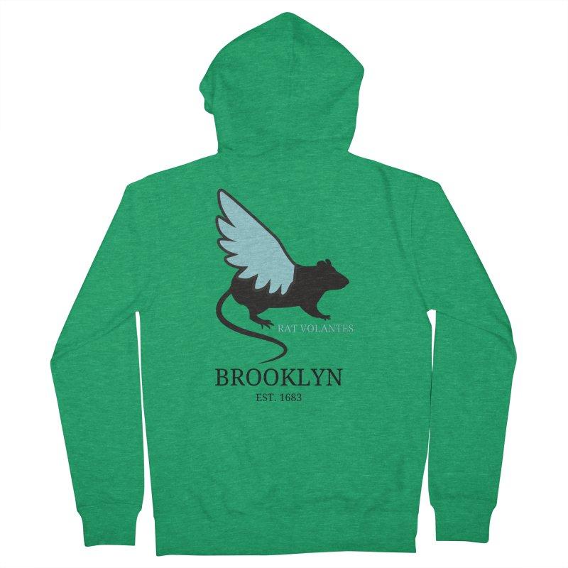 Flying Rat: Brooklyn Men's Zip-Up Hoody by avian30