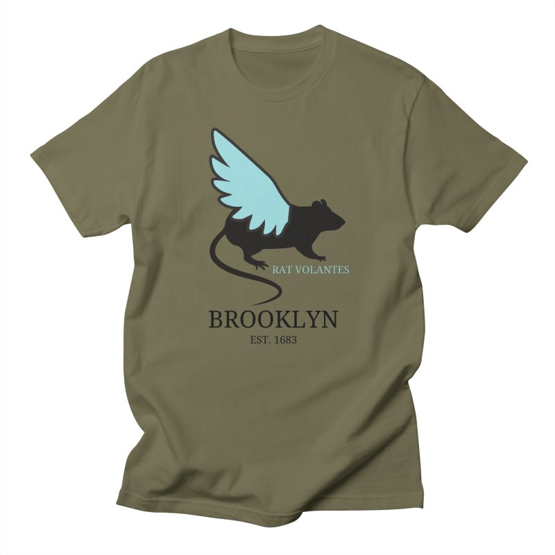 Flying Rat: Brooklyn Men's T-Shirt by avian30