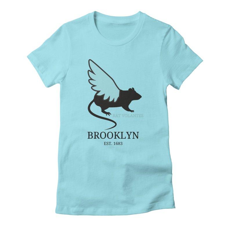 Flying Rat: Brooklyn Women's T-Shirt by avian30