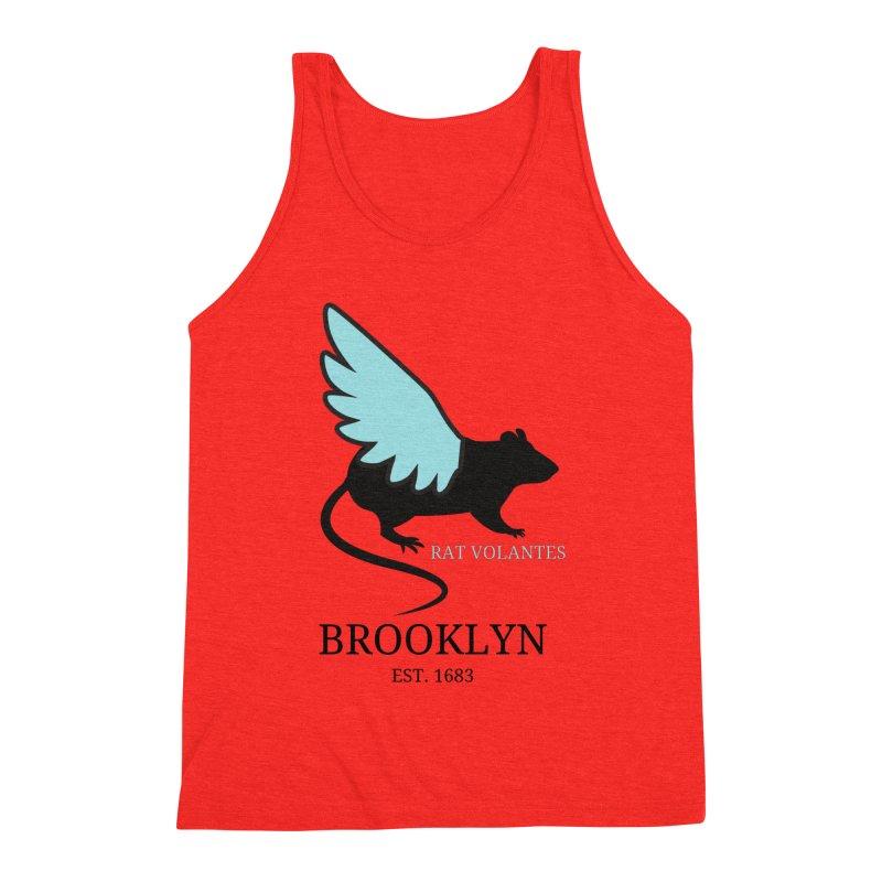 Flying Rat: Brooklyn Men's Tank by avian30