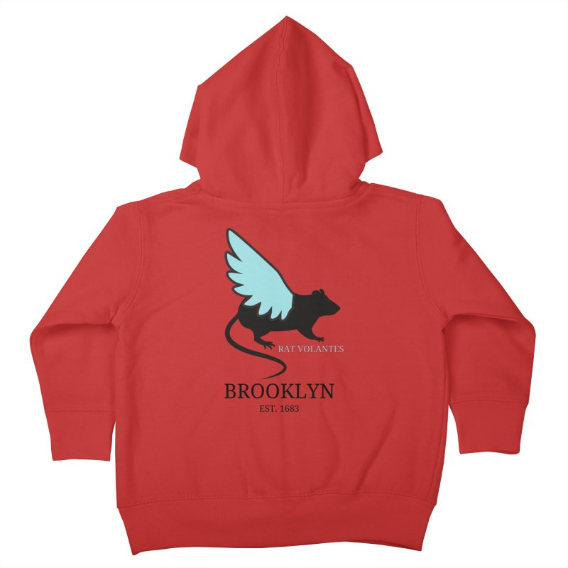 Flying Rat: Brooklyn Kids Toddler Zip-Up Hoody by avian30