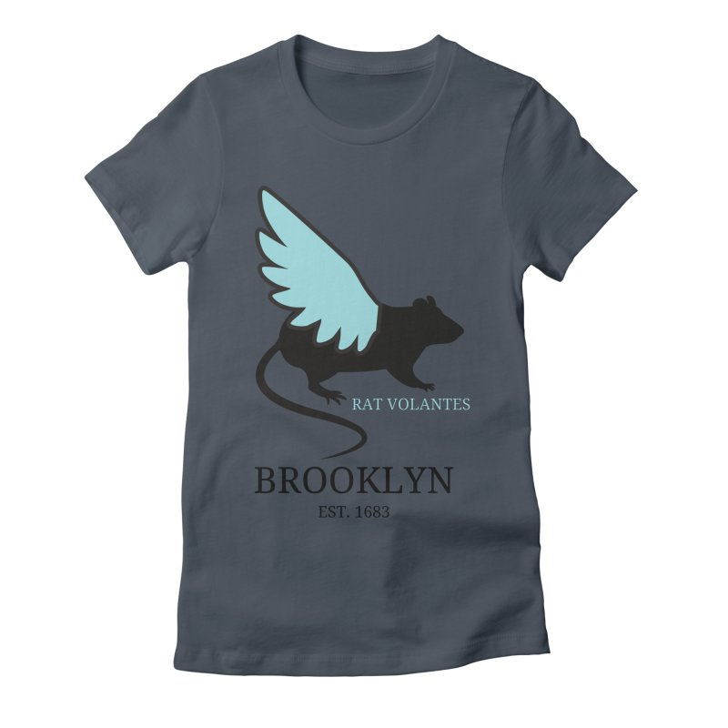 Flying Rat: Brooklyn Women's T-Shirt by avian30