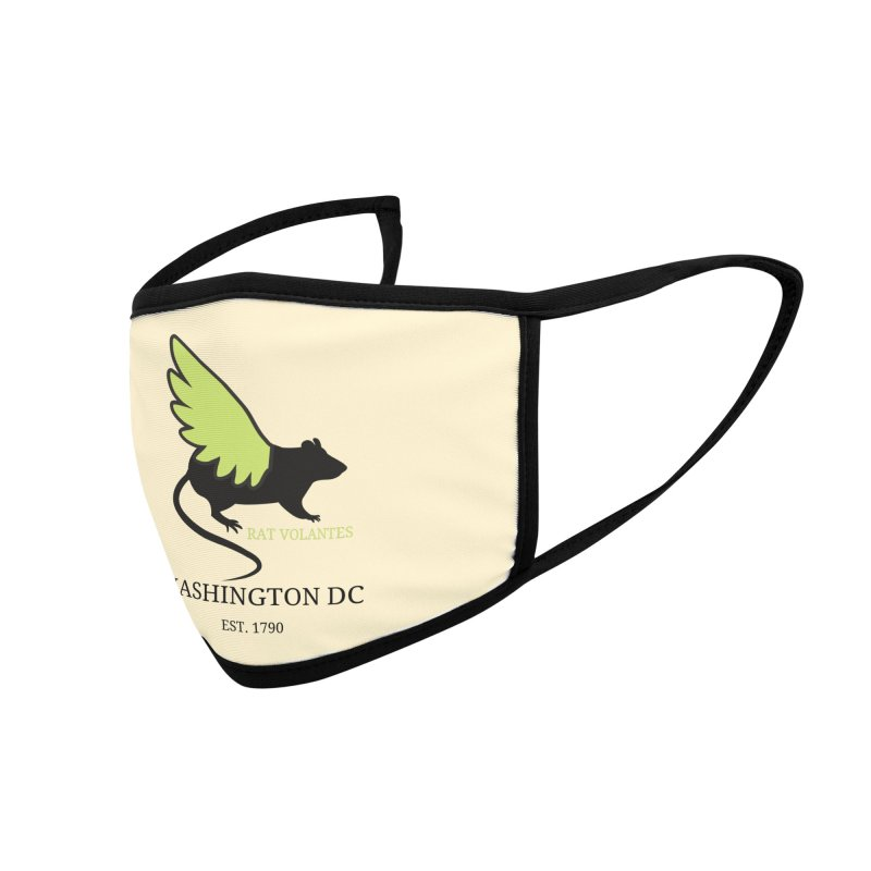 Flying Rat: Washington DC Accessories Face Mask by avian30