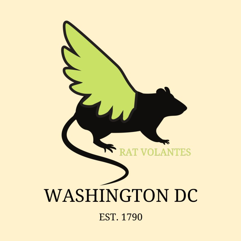 Flying Rat: Washington DC Men's Tank by avian30