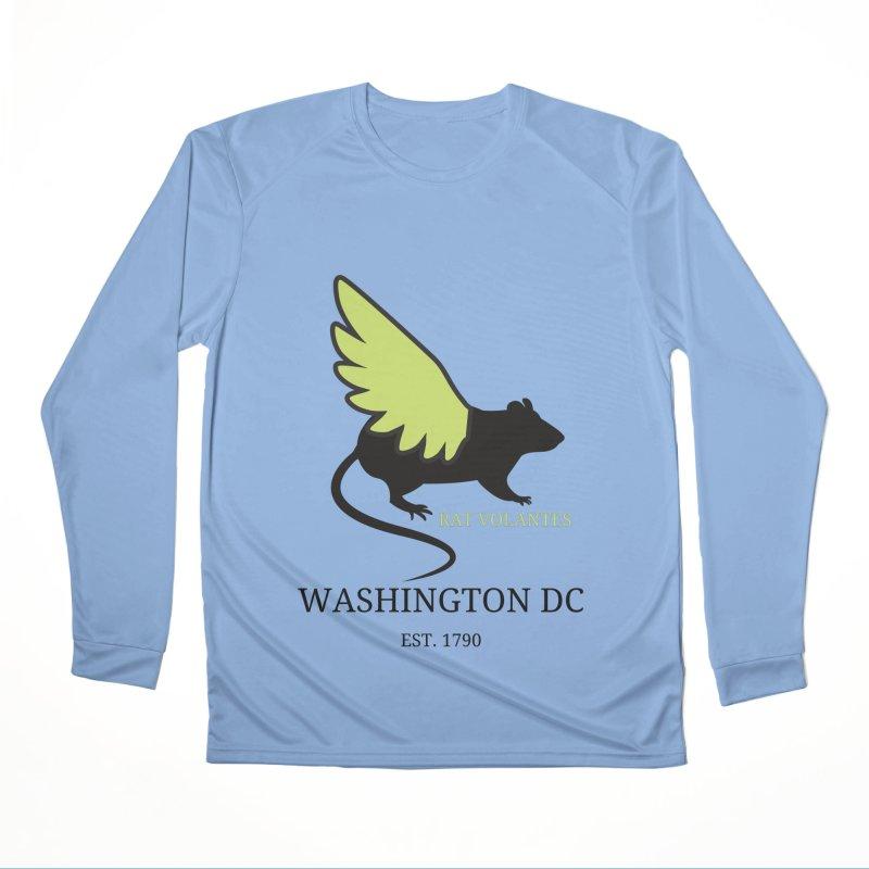 Flying Rat: Washington DC Women's Longsleeve T-Shirt by avian30
