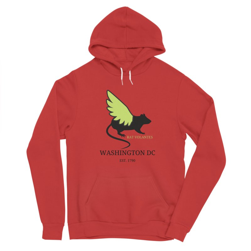 Flying Rat: Washington DC Women's Pullover Hoody by avian30